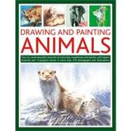 Drawing and Painting Animals : How to Create Beautiful Artworks of Mammals, Amphibians and Reptiles, with Expert Tutorials and 14 Projects Shown in More Than 470 Photographs and Illustrations by Truss, Jonathan; Hoggett, Sarah, 9781780192093