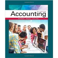 Accounting by Warren, Carl S.; Reeve, James M.; Duchac, Jonathan, 9781337272094