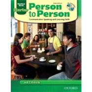 Person to Person  Audio CD by Richards, Jack; Bycina, David; Wisniewska, Ingrid, 9780194302098