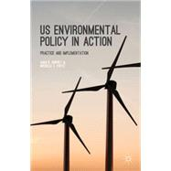 US Environmental Policy in Action Practice and Implementation by Rinfret, Sara R.; Pautz, Michelle C., 9781137482099