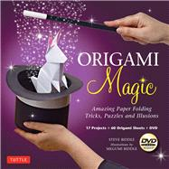 Origami Magic Kit : Amazing Paper Folding Tricks, Puzzles and Illusions by Biddle, Steve; Biddle, Megumi, 9784805312100