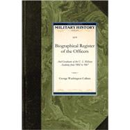 Biographical Register of the Officers by Cullum, George, 9781429022101