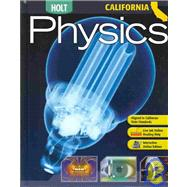 Holt Physics - California Edition by , 9780030922107