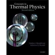 Concepts in Thermal Physics by Blundell, Stephen J.; Blundell, Katherine M., 9780199562107