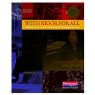 With Rigor for All by Jago, Carol, 9780325042107