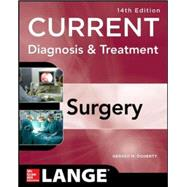 Current Diagnosis and Treatment Surgery 14/E by Doherty, Gerard, 9780071792110