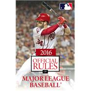 2016 Official Rules of Major League Baseball by Triumph Books, 9781629372112