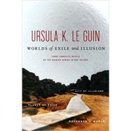 Worlds of Exile and Illusion Three Complete Novels of the Hainish Series in One Volume--Rocannon's World; Planet of Exile; City of Illusions by Le Guin, Ursula K., 9780312862114
