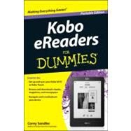 Kobo eReaders for Dummies by Sandler, Corey, 9781118402115