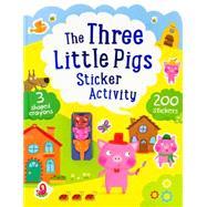 Three Little Pigs Sticker Activity by Parragon, 9781472372116