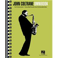 John Coltrane Omnibook: For B-Flat Instruments by Coltrane, John (CRT), 9781458422118