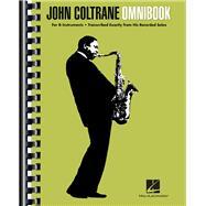 John Coltrane Omnibook by Coltrane, John (CRT), 9781458422118