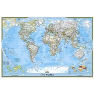 World Classic Poster Size Map by National Geographic Maps, 9781597752121