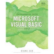 Programming with Microsoft Visual Basic 2017 by Zak, Diane, 9781337102124