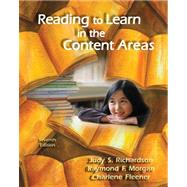 Custom Reading to Learn in the Content Areas 9781111752125R