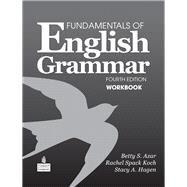 Fundamentals of English Grammar Workbook by Azar, Betty Schrampfer; Hagen, Stacy A., 9780138022129