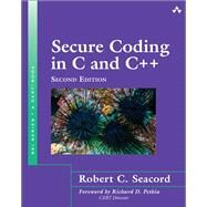 Seacord Secure Coding in C and C+_2 by Seacord, Robert C., 9780321822130