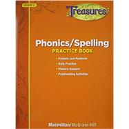 Treasures Phonics/Spelling Practice Book, Grade 3 by Glencoe;McGraw-Hill School Pub. Co., 9780022062132