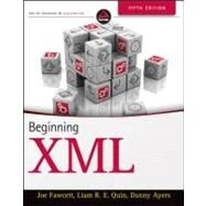 Beginning XML, 5th Edition by Fawcett, Joe; Ayers, Danny; Quin, Liam R. E., 9781118162132