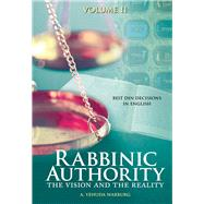 Rabbinic Authority by Warburg, A. Yehuda, Rabbi, 9789655242133