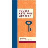 Pocket Keys for Writers, Spiral bound Version by Raimes, Ann; Miller-Cochran, Susan K., 9781305092136