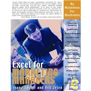Excel for Marketing Managers by Unknown, 9781932802139