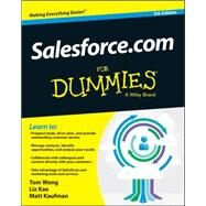 Salesforce.com for Dummies by Kao, Liz; Kaufman, Matt, 9781118822142
