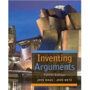 Inventing Arguments by Mauk, John; Metz, John, 9781305092143