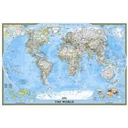 World Classic Poster Size Map by National Geographic Maps, 9781597752145