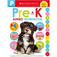 Jumbo Workbook: Pre-K (Scholastic Early Learners) by Scholastic, 9781338292152