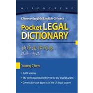 Chinese-English/English-Chinese Pocket Legal Dictionary by Chen, Young, 9780781812153