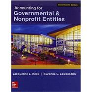 Accounting for Governmental & Nonprofit Entities w/Connect by Reck, Jacqueline, 9781259602153