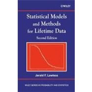 Statistical Models and Methods for Lifetime Data by Lawless, Jerald F., 9780471372158