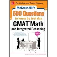 McGraw-Hill Education 500 GMAT Verbal Questions to Know by Test Day by Zahler, Kathy A., 9780071812160