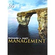 Bundle: Management, Loose-Leaf Version, 13th + MindTap Management, 1 term (6 months) Printed Access Card by Daft, Richard L., 9781337502160