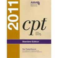 CPT 2011: Standard Edition by American Medical Association, 9781603592161