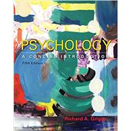 Psychology: A Concise Introduction by Griggs, Richard A., 9781464192166