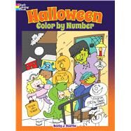 Halloween Color by Number by Radtke, Becky J., 9780486812168