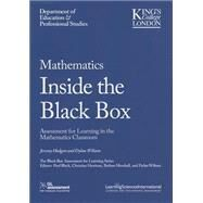 Mathematics Inside the Black Box by Hodgen, Jeremy; Wiliam, Dylan, 9781941112168
