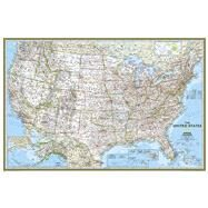 United States Classic Poster Size Map by National Geographic Maps, 9781597752169