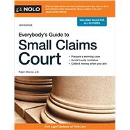 Everybody's Guide to Small Claims Court 9781413322170N