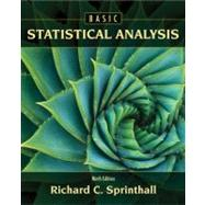 Basic Statistical Analysis by Sprinthall, Richard C., 9780205052172