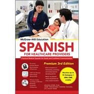 McGraw-Hill Education Spanish for Healthcare Providers, Premium 3rd Edition by Rios, Joanna; Torres, José Fernández; Ríos, Tamara, 9780071842174