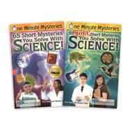 65 Short Mysteries You Solve With Science! + 65 More Short Mysteries You Solve With Science! by Yoder, Eric; Yoder, Natalie; Levy, Nathan; Michels, Dia L., 9781938492174