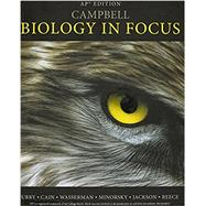Campbell Biology in Focus (NASTA Edition) by Urry et al, 9780133102178