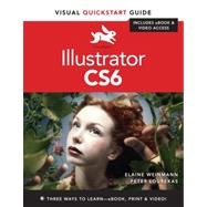 Illustrator CS6 Visual QuickStart Guide by Lourekas, Peter; Weinmann, Elaine, 9780321822178
