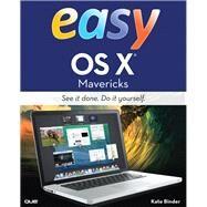 Easy OS X Mavericks by Binder, Kate, 9780789752178