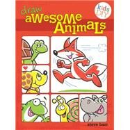 Awesome Animals Do-It-Yourself Drawing and Coloring Book by Barr, Steve, 9781440322181