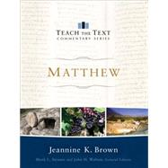 Matthew by Brown, Jeannine K.; Strauss, Mark; Walton, John, 9780801092183