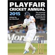 Playfair Cricket Annual 2015 by Marshall, Ian, 9781472212184